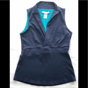 Yoga Wear Fitted Tank top. Made in Canada